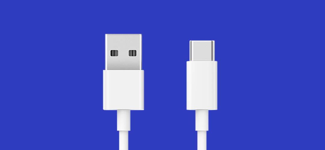小米USB-C数据线普通版100cm