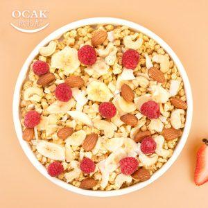 欧扎克芝士树莓坚果麦片