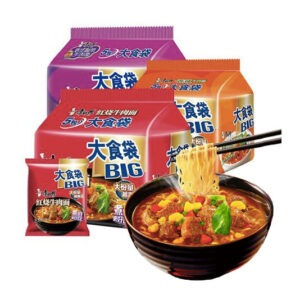 康师傅 大食袋5连包