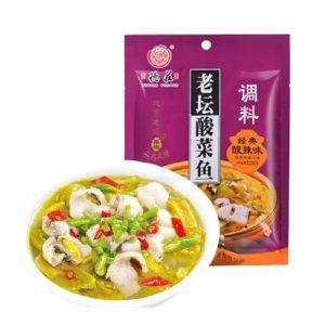 德庄老坛酸菜鱼调料