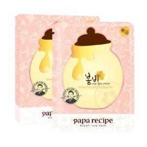 papa recipe/春雨 玫瑰24K黄金蜂巢粉蜂蜜面膜