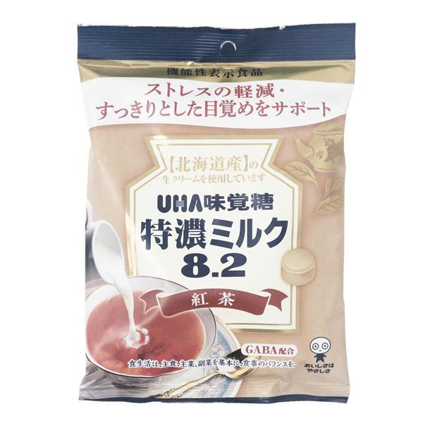 UHA悠哈 8.2特浓减压舒眠红茶奶糖