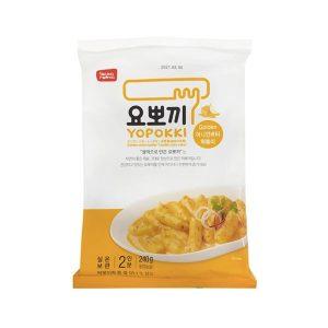 YOPOKKI 袋装速食年糕炸酱-洋葱黄油