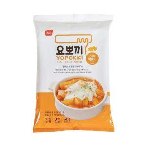 YOPOKKI 袋装速食年糕炸酱-芝士味