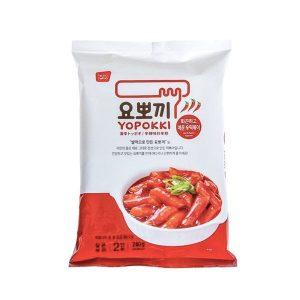 YOPOKKI 袋装速食年糕炸酱-辛辣味