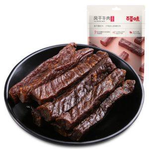 product_奇妙_百草味风干牛肉