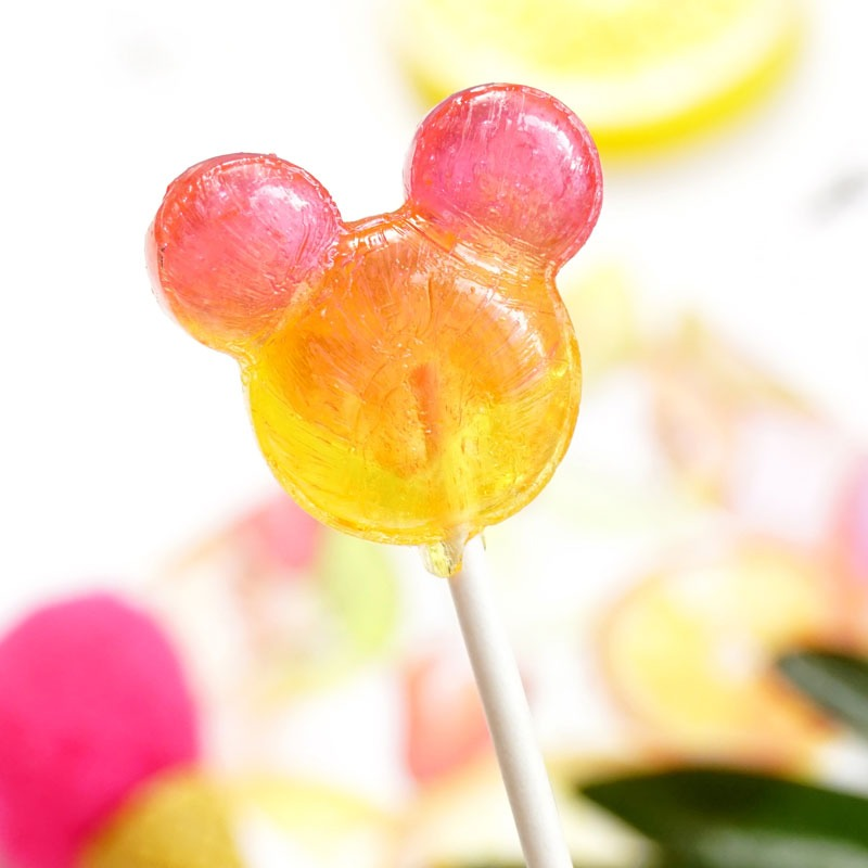 奇妙-【Glico • 迪士尼棒棒糖】 儿童糖果   米奇头