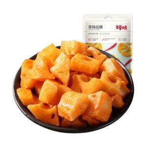百草味香辣卤藕