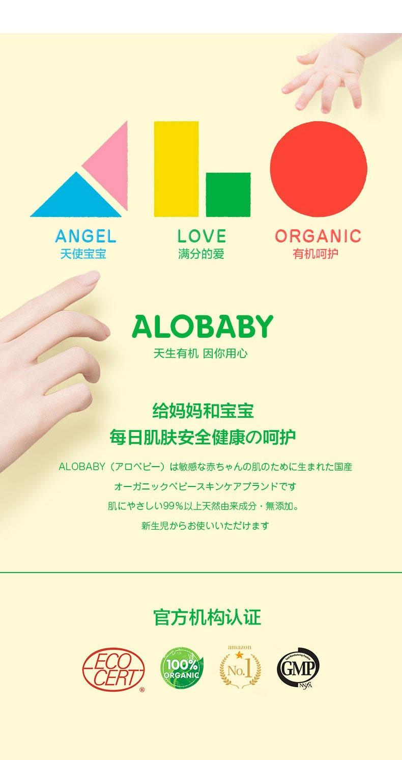 奇妙——ALOBABY/安诺宝宝宝二合一洗发沐浴露