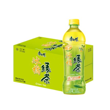 奇妙-康师傅冰橘绿茶