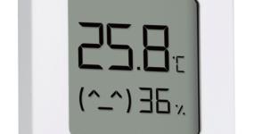 米家蓝牙温湿度计2,舒适宅家的必备好物