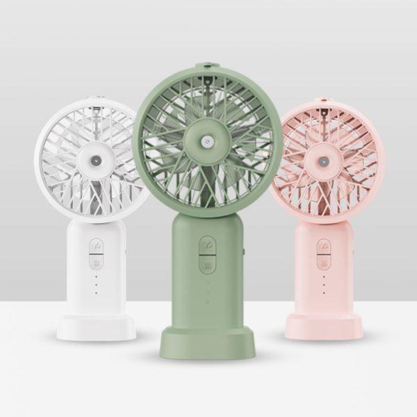 DOCO超声波补水小风扇 补水仪 加湿器