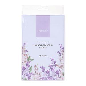 MINISO 名创优品 浪漫花卉系列竹炭香包