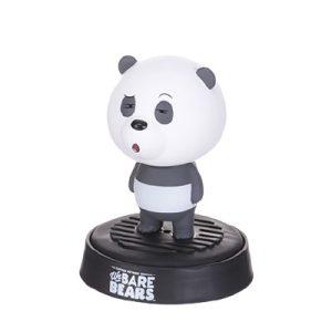 MINISO名创优品We Bare Bear熊熊三贱客车载香薰摇头摆件