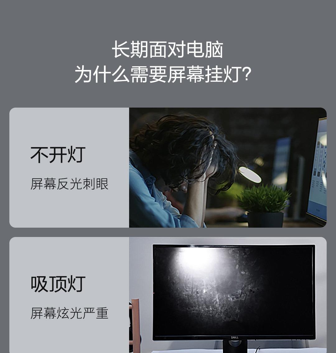 Product_奇妙_倍思USB屏幕挂灯:显示器挂灯