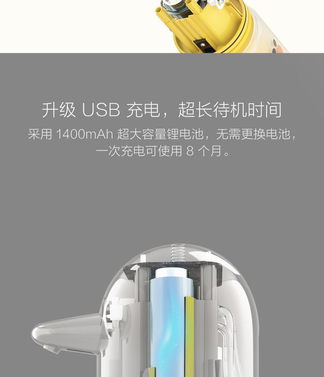 product_奇妙_米家自动洗手机套装莎莉定制版黄色