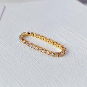 qimiao-小水钻戒指