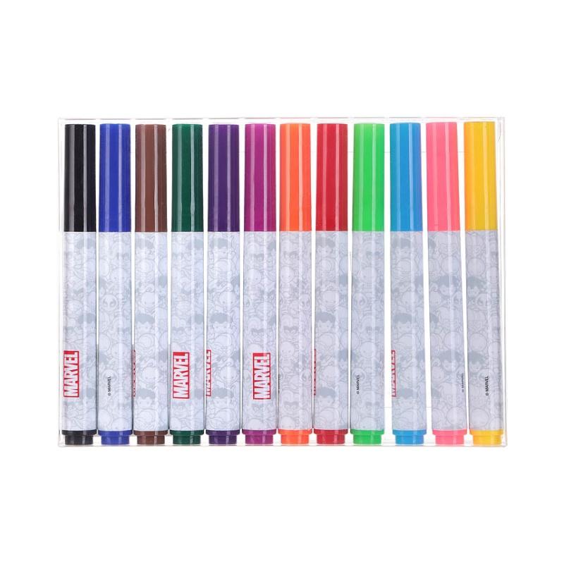 奇妙-miniso漫威系列12色水彩笔