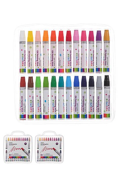 奇妙-MINISO 名创优品 • 24色彩色油笔