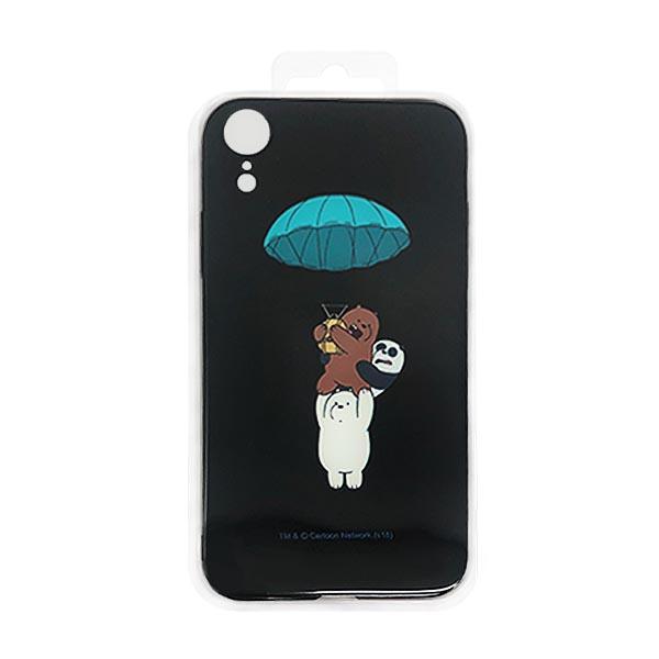 MINISO 名创优品 We Bare Bears熊熊三贱客iPhone XR彩绘PC手机壳