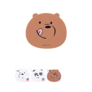 MINISO 名创优品 熊熊三贱客杯垫