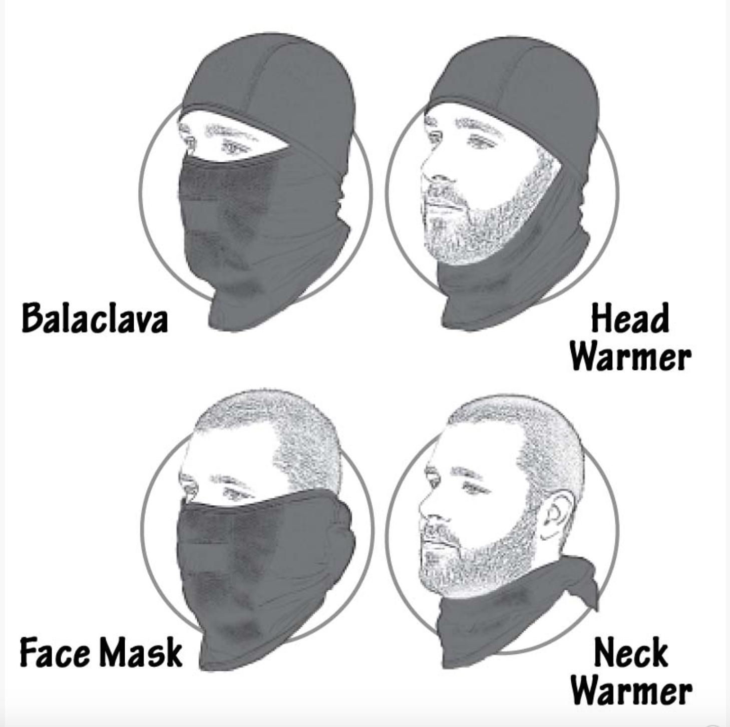 BACKWOODS 多功能巴拉克拉法帽