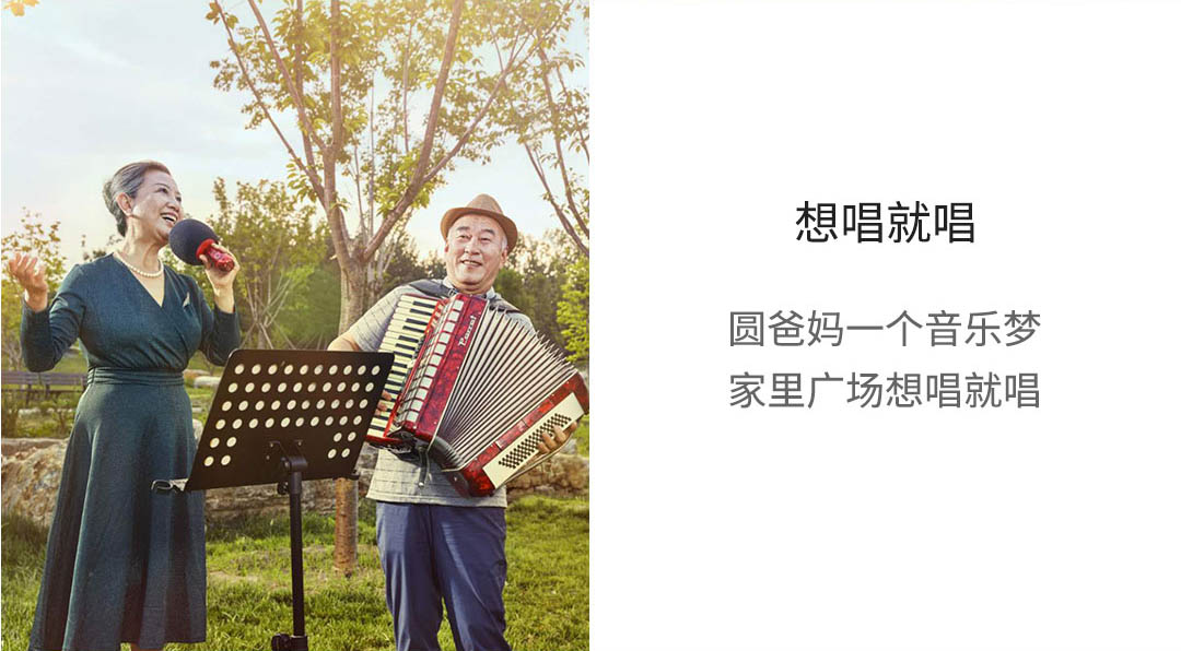product_奇妙_唱吧小巨蛋双人合唱麦克风-G2