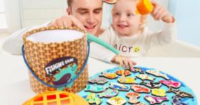特宝儿宝宝钓鱼玩具,宝宝玩不腻的益智玩具