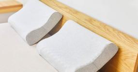 米家天然乳胶护颈枕,睡眠困难户的秒睡神器