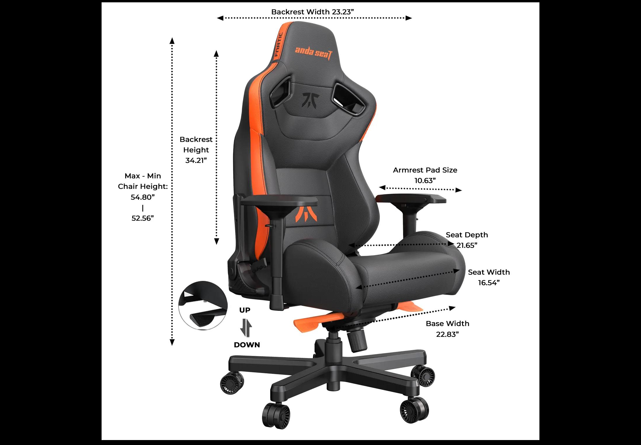 Product_奇妙_Anda Seat Fnatic Edition Premium Gaming Chair