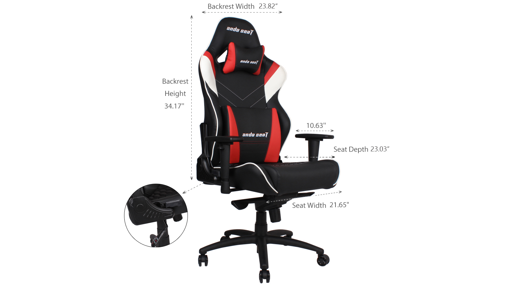 Product_奇妙_Assassin King Series Premium Gaming Chair