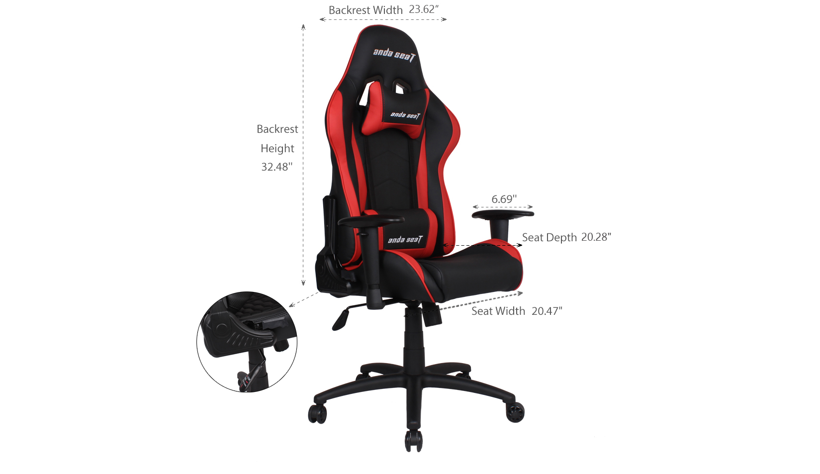 Product_奇妙_Axe Series Premium Gaming Chair