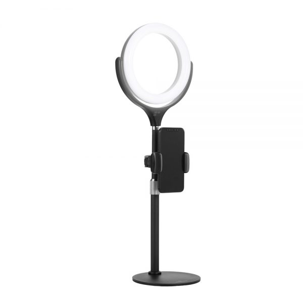 Product_奇妙_Ergopixel-Desktop-Tripod-Stand-With-LED-Ring-Light---Black