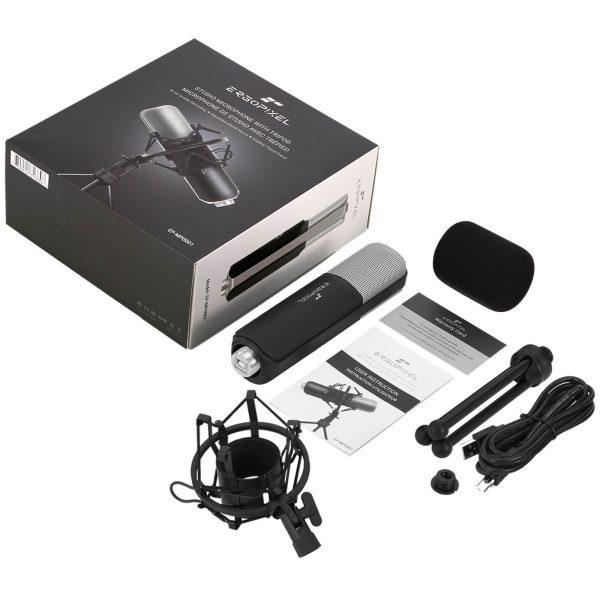 Product_奇妙_Ergopixel Studio Microphone With Tripod - Black