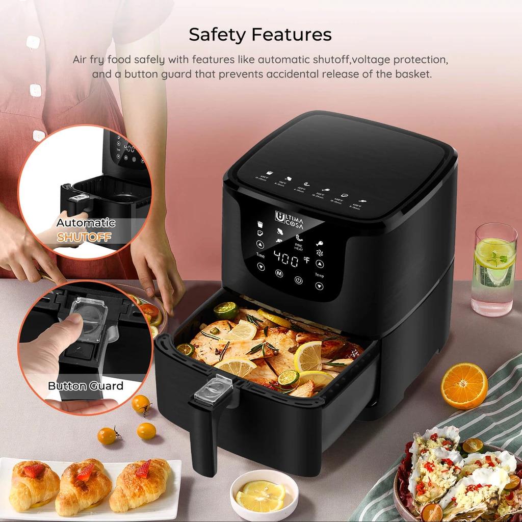 Product_奇妙_Ultima Cosa Presto Luxe Plus Air Fryer 5L (Black)