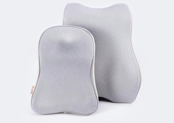 8H汽车头枕腰靠套装