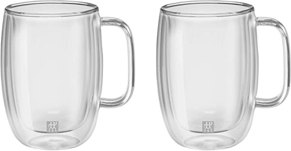 product_奇妙_ZWILLING SORRENTO PLUS 2 PIECE LATTE GLASS SET