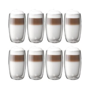 product_奇妙_ZWILLING - Sorrento 8 Pc Double-Wall Latte Glass Set 350ml - 39500-121-