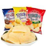 【 上好佳 • 田园薯片 】浓浓香味 领略鲜香口感 —— 烤肉味/蕃茄味