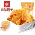 【良品铺子 • 小米锅巴】麻辣味90g 酥脆好滋味 | 真米粒看得见 | 优选晋城黄小米