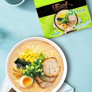奇妙零食-统一汤达人日式豚骨拉面碗装130g